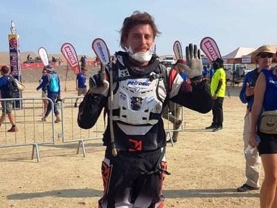 Nelson Sanabria completa su sexto Dakar consecutivo