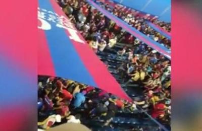 Fiesta del fútbol se empañó con violencia