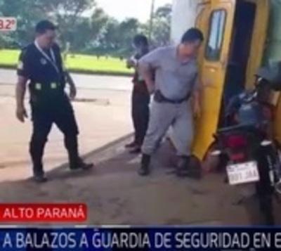 Asesinan a guardia de seguridad en Ciudad del Este