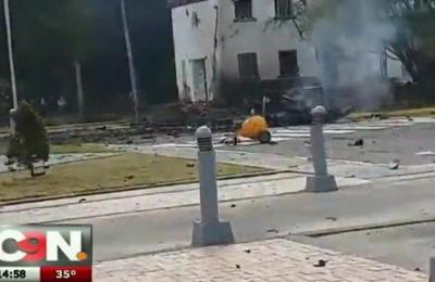Escuela de policías sufre atentado en Bogotá