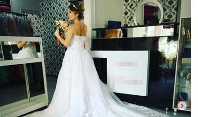 """Dahiana Bresanovich """"vestida De Novia"""""""