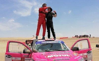 Andrea Lafarja cierra el Dakar 2019 como top 50