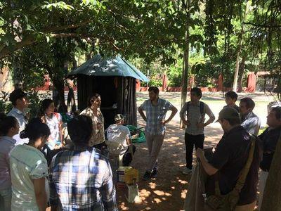 """Nueva reunión """"in situ"""" por traslado de árboles del Jardín Botánico"""