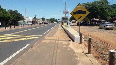 MOPC promete regularizar obra municipal en la franja de dominio de la Ruta 3