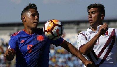 Suda Sub20: Venezuela golpea a Colombia