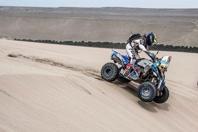 Nelson Sanabria finaliza su sexto Dakar tras muchas complicaciones