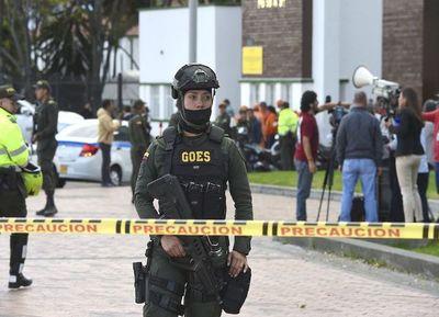 Un coche bomba manchó de sangre Bogotá: hay 10 muertos