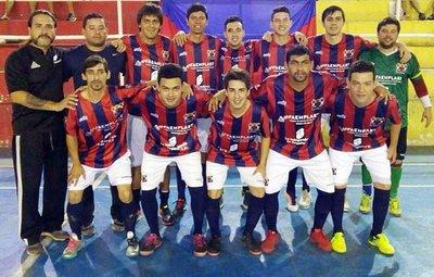 Peñarol, bicampeón en Fernando de la Mora