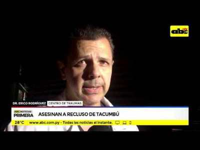 Asesinan a recluso en Tacumbú