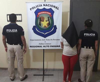Cae mujer investigada por trata de personas