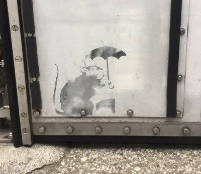 El hallazgo de un posible Banksy moviliza al Gobierno de Tokio