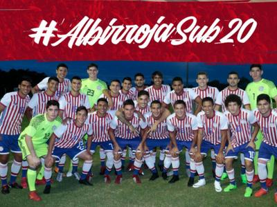 Paraguay debuta en el Suda Sub 20