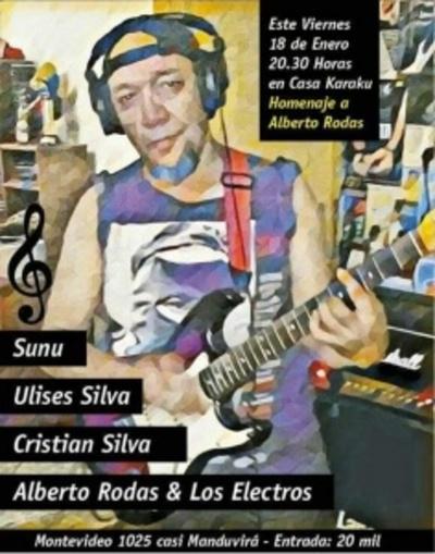 Concierto homenaje a Alberto Rodas es hoy en Casa Karaku