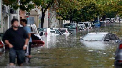 Argentina: Inician operativo de emergencia por inundaciones