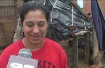 Temporal y destrozos en Pilar