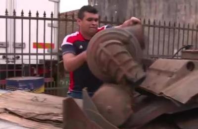 Recuperan partes de vehículo robado en Guarambaré