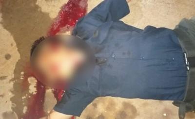 Asesinan con dos tiros a la cabeza a guardia en su puesto de trabajo