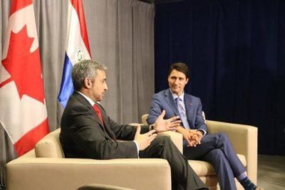 Marito habló con primer ministro canadiense sobre crisis venezolana