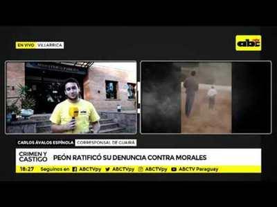 Peón declara en la Fiscalía de Villarrica y hunde más a Papo Morales