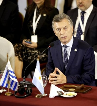 "Macri reconoce a Guaidó como ""presidente encargado"" de Venezuela"