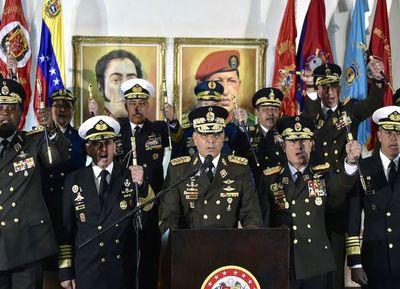 "FFAA de Venezuela declara ""golpe de Estado"" de Guaidó"