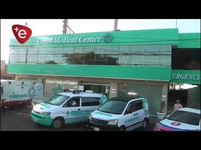 CRISOL MEDICAL CENTER PRESENTA FLOTA DE AMBULANCIAS
