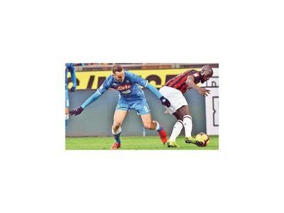 Se frena la ambición de Napoli en Milano