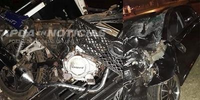Ebrio al volante arrolla y mata a un joven en Itapúa