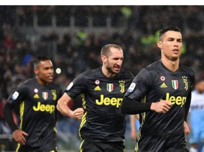 Cristiano Ronaldo firmó la remontada de la Juventus