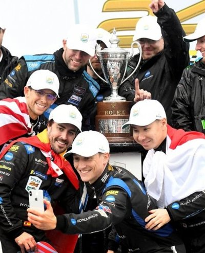 Alonso, nuevo rey en Daytona