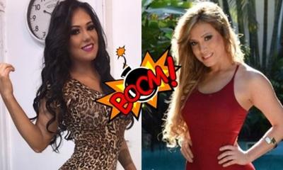 La modelo Ana Rojas respondió a su hermana