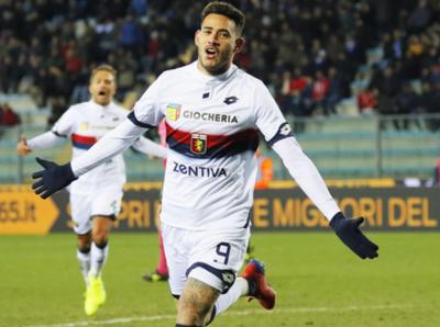 Tonny marcó un gol en su debut con el Genoa CFC