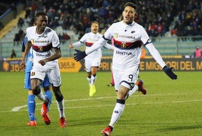 Debut y gol de Tonny Sanabria con el Genoa