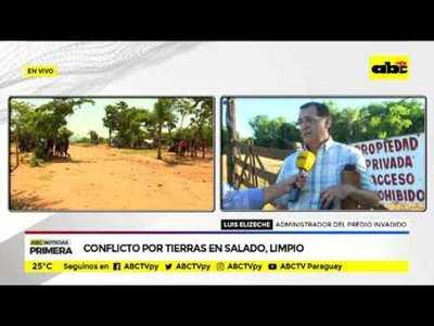 Conflicto por tierras en Salado, Limpio