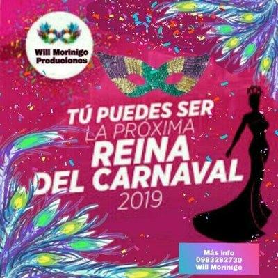Buscan a la ¡reina del carnaval!
