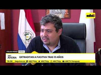 Extraditan a fugitiva tras 10 años