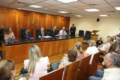 Ministros se reunieron con magistrados judiciales