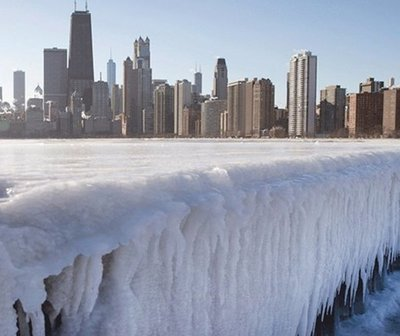 Ola de frío polar deja una sensación térmica de 50 grados bajo cero en EEUU