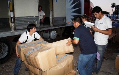 Anuncian distribución de kits escolares en Central