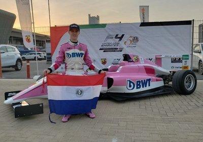Duerksen se lanza con todo a la Fórmula 4