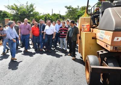 Millonaria inversión de Itaipu en obras viales en Alto Paraná