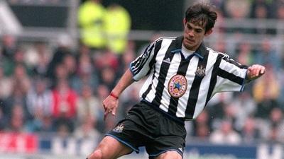 Newcastle recuerda el paso de Diego Gavilán por el club