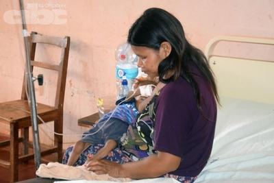 Indígenas con desnutrición crónica en San Juan Nepomuceno