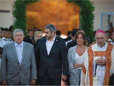 Mario Abdo presente en festividad fundacional de Ciudad del Este