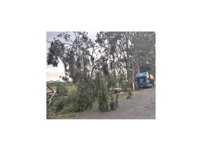 Temporal causa destrozos en viviendas del Guairá