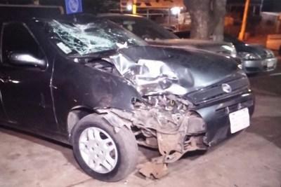 Una familia resulta herida en accidente de tránsito en Lambaré