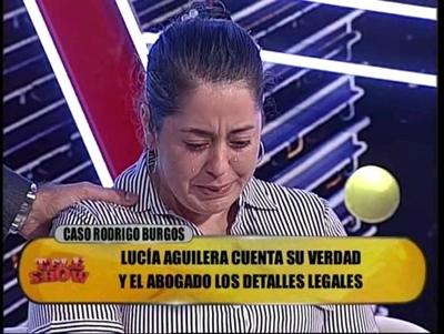 Lucia Aguilera denuncia nueva agresión de Rodrigo Burgos