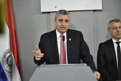CDE: Villamayor insiste en que el Ejecutivo no tiene ninguna participación