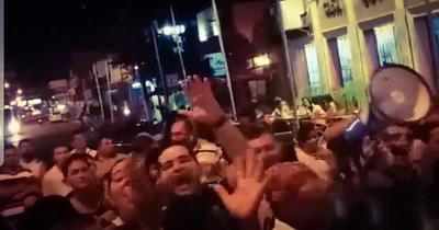 Intendente de Concepción incitando a la violencia