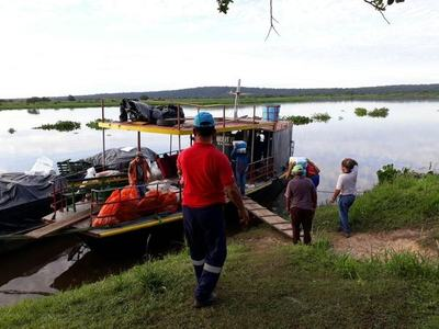 Puerto Pinasco recibirá más de 7.500 kilos de alimentos de la SEN